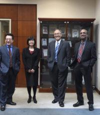 祝贺John Lin博士, Abdul Mutlib博士,王冬梅博士的晋升